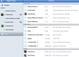 Skype für das iPad