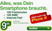 Smartmobil Handytarif - Auch mit Smartphones erhältlich