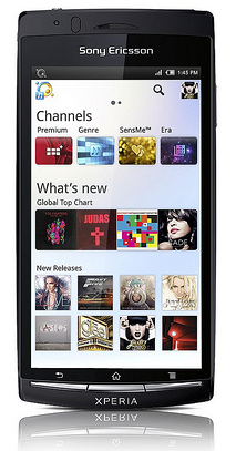 Sony Music Unlimited Streaming Android App