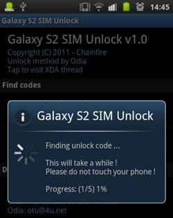 Samsung Galaxy S2 simlock entfernen (Entsperren)