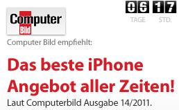 Das beste iPhone 4 Angebot? - Diesmal hat Computerbild wirklich recht.