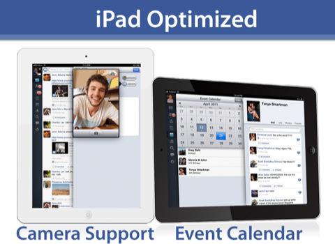 MyPad Facebook App für das iPad