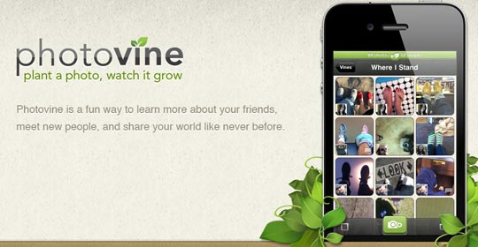 iPhone preist Photovine an