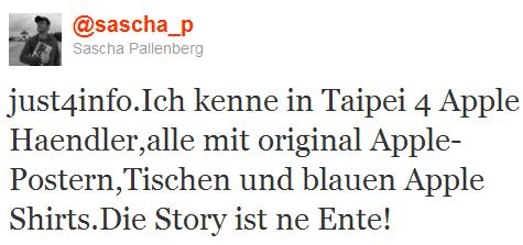 Alles nur eine Ente? Ja, sagt jedenfalls Sascha P. von netbooknews.de