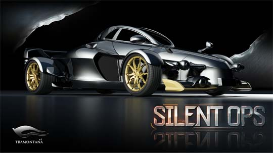 Das Silent Ops Konzeptfahrzeug