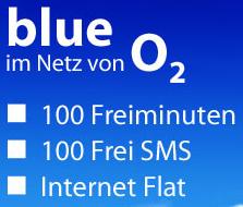 O2 Blue Handytarif für nur 4,95 Euro/Monat