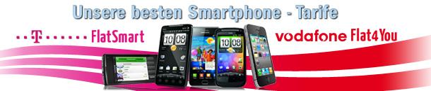 Smartphone Tarife Angebot bei eteleon