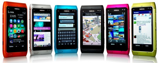 Symbian Anna auf dem N8