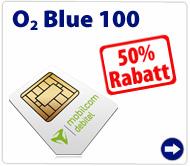 O2 Blue 100 für nur 12,50 Euro pro Monat