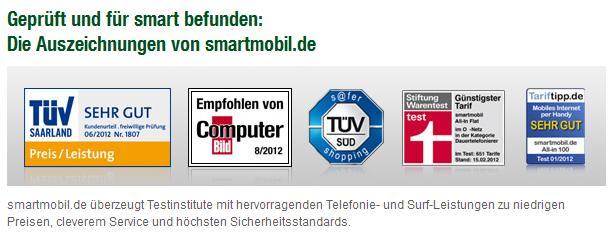 """Smartmobil erhält TÜV-Zertifikat mit """"Sehr gut"""""""